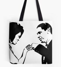 RESIST: Obama Fist Bump Tote Bag