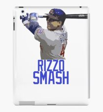 "Anthony Rizzo/Cubs -- ""Rizzo Smash"" iPad Case/Skin"