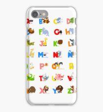 ABC (spanish) iPhone Case/Skin