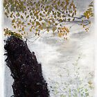 Seen Through the River's Mist by RoyAllen Hunt