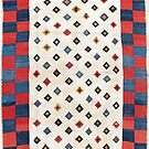 Qashqa'i Antique Fars South West Persian Kilim by Vicky Brago-Mitchell