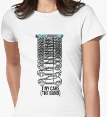 Tiny Cars (The Band) - Opposite of abduction band Tshirt Women's Fitted T-Shirt
