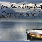 canoe banner by Terence Russell