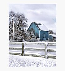 Winter Blues Photographic Print