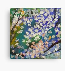 Sakura Oil Painting Canvas Print