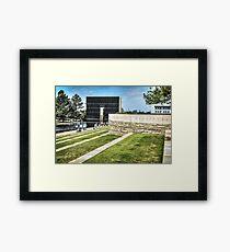 Oklahoma Memorial Framed Print