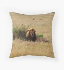 Not a care in the world Throw Pillow