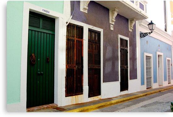 Old San Juan, Puerto Rico by maurameems