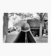 1st Infantry Division Photographic Print