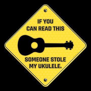 Someone Stole My Ukulele by Kowulz