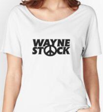 Wayne Stock Women's Relaxed Fit T-Shirt