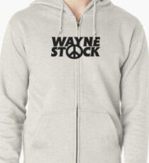 Wayne Stock Zipped Hoodie