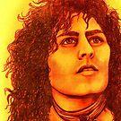 Marc Bolan celebrity portrait (3) 113 views by Margaret Sanderson