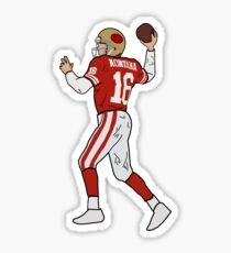 Joe Montana - NFL San Francisco 49ers Sticker