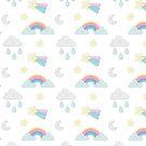 Sunshine and rainbows by Anuschka Raper