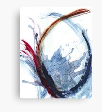 Oil and Water #29 Canvas Print