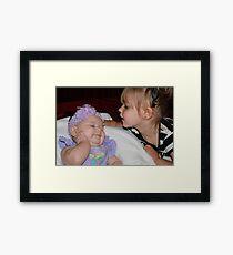 Love you ! Framed Print
