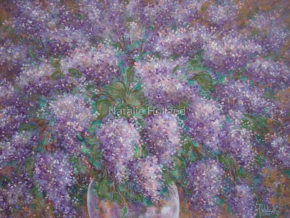 Lilac Burst by Natalie Holland