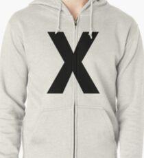 X Zipped Hoodie