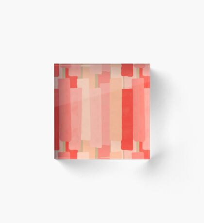 Like In Coral #redbubble #abstractart Acrylic Block