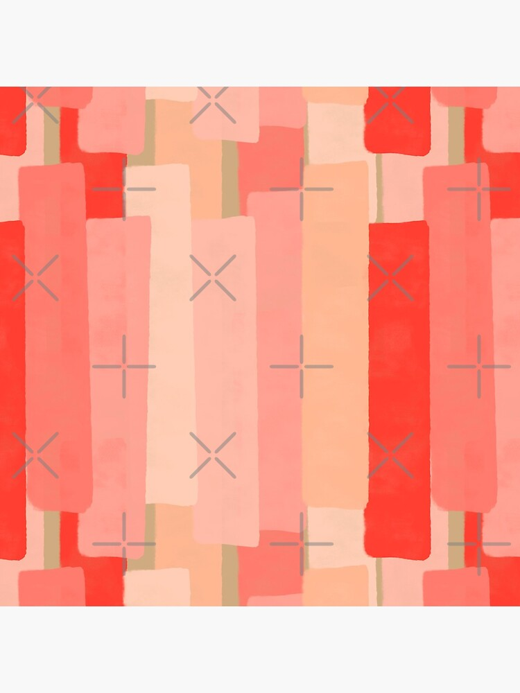 Like In Coral #redbubble #abstractart by designdn