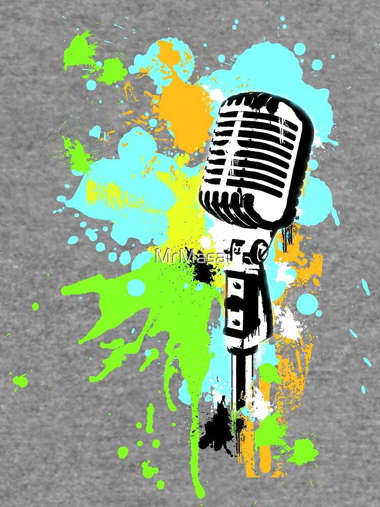 Old Skool Microphone by MrMasai