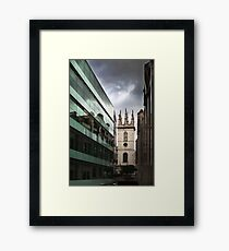 Religious Perspective Framed Print