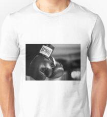 Everlast Boxing Gloves (Black And White)  Unisex T-Shirt