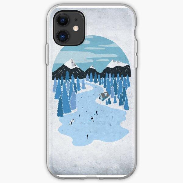 Pond Hockey iPhone Soft Case