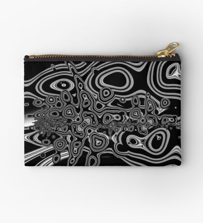 Monochrome Pattern 009 Zipper Pouch