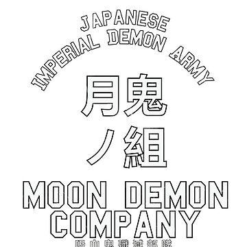 Moon Demon Company (White) by Oathkeeper9918