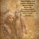 Ureinwohner-Indianerpaare Leiter Seattle-Zitat von Irisangel
