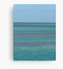 Blue In The Florida Keys Canvas Print
