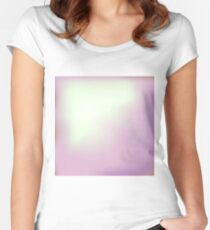 Abstract Pink Background Women's Fitted Scoop T-Shirt