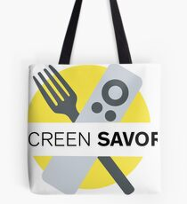 Screen Savor Podcast Logo Tote Bag