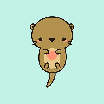 Cute otter by peppermintpopuk