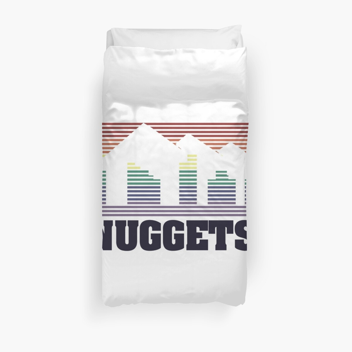 Nuggets Edition Duvet Cover