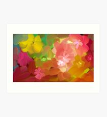 Happy colours Art Print