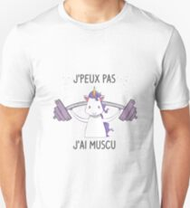 I can't I have gym Unisex T-Shirt