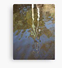 Post Reflection Canvas Print