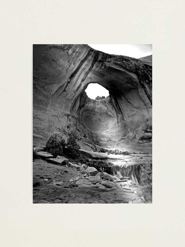 Alternate view of Bow Tie Arch in Black and White Photographic Print