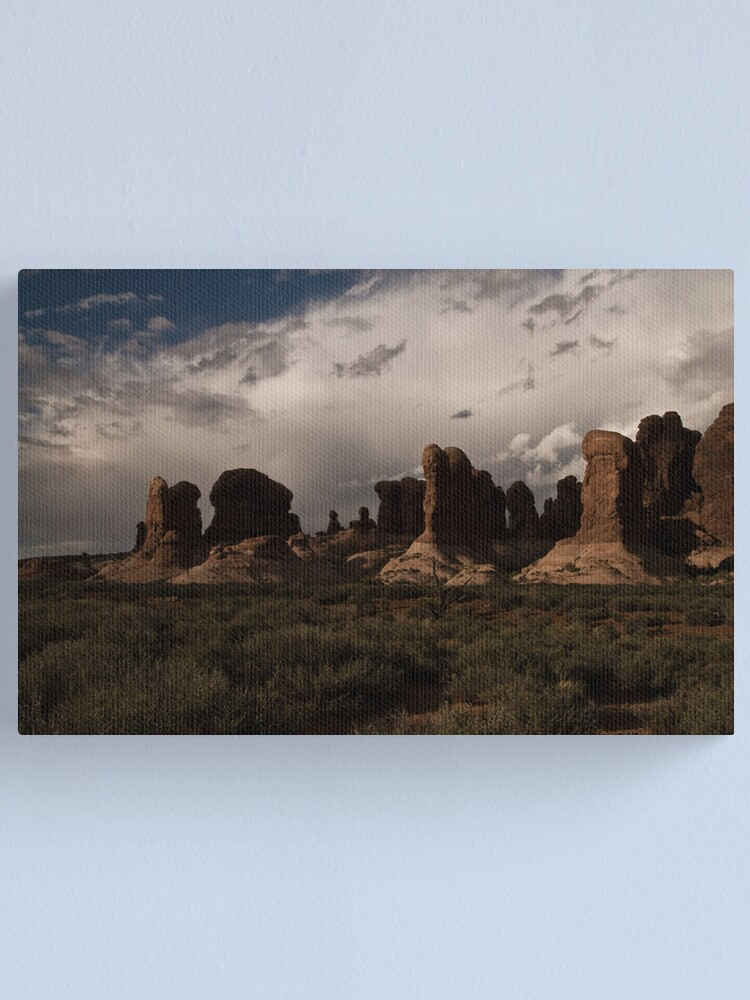 Alternate view of Stalemate Canvas Print