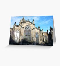 St Giles Cathedral, Edinburgh Greeting Card
