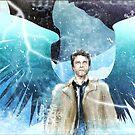 Frozen Castiel by tonksiford