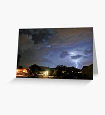 Monsoon Storm Greeting Card