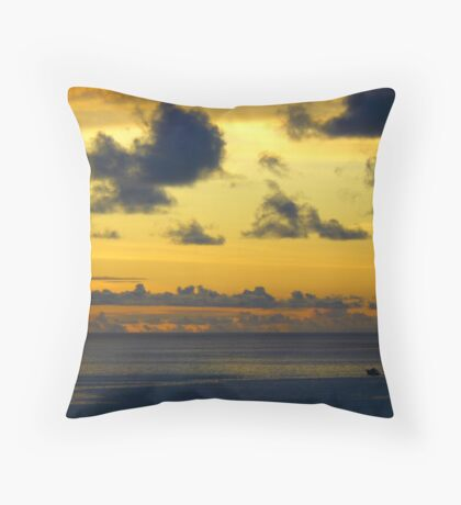 Watercolour Throw Pillow