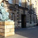 David Hume, Edinburgh philosopher by Yonmei