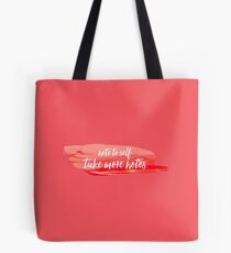 note to self 2 Tote Bag