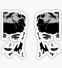 Audrey by ur side Sticker