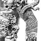 skin art right panel by L Skull